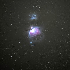 One more from Orion nebula with Z50 and Tamron 70-200/2.8 (dimitris_78z) Tags: astrophotography deepsky sky night space nebula