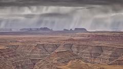Rain over Mounument Valley (Mark P Betts) Tags: muleypoint monumentvalley cedarmesa sanjuangoosenecks