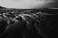 Dark Beach (jo.misere) Tags: bw zw oostende lowkey strand beach