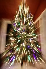 Oh Christmas Tree... (Sandra Mahle) Tags: christmas canonphotography canon icm december ngysa abstract incameramovement
