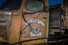 Broken Spoke Saloon (Brad Prudhon) Tags: 2019 antique arizona bisbee brokenspokesaloon chevy december lowell old rusty abandoned chevrolet flatbed truck
