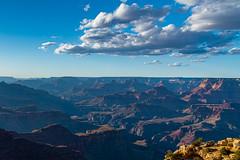 Grand Canyon (nebulous 1) Tags: purple grandcanyon grandcanyonnationalpark coloradoriver geologyriver clouds erosion rocks dirt nikon nebulous glene