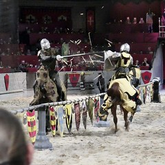 Joust (WalrusTexas) Tags: joust knight medievaltimes dallas square sliderssunday hss splinter