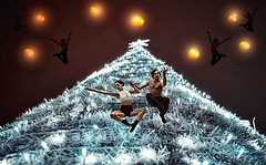 happy new year 2020 !! (mare_maris) Tags: happy new year 2020 makeawish wishes christmasstree composition creative maremaris fantacy photoshop photography nikon dancers sky stars spirit