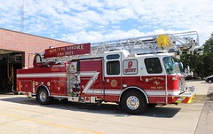 South Shore Fire Department (raserf) Tags: shore south fire dept department 2018 eone ii truck ladder engine water quint 9 mount pleasant sturtevant wisconsin racine county emergency cyclone firehouse village of