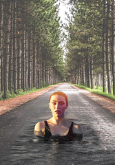 What on Earth.......... (ClaraDon) Tags: photoshop manipulation blending