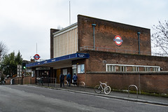 West Acton Station (London Less Travelled) Tags: uk unitedkingdom britain england london city urban suburban suburb suburbs suburbia ealing tube underground tfl transport publictransport metro station piccadilly building architecture englishheritage listed brianlewis acton westacton