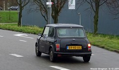Mini 1000 Mayfair 1990 (XBXG) Tags: 59hsdg mini 1000 mayfair 1990 black noir s111 muntbergweg amsterdam zuidoost nederland holland netherlands paysbas youngtimer old classic british car auto automobile voiture ancienne anglaise uk brits vehicle outdoor
