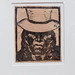 Woodcut in the MALI museum Lima - Jose Sabogal: