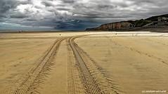 Upcoming storm (Huawei P20 Pro) (Mike Reichardt) Tags: dieppe normandie normandy reisen france frankreich strand beach storm sturm landscape landschaft