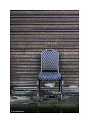 Chair, Fleetwood, Fylde Coast Lancashire © (wpnewington) Tags: fleetwood lancashire fylde decay discarded coastal seaside britain england chair industrial