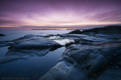 Black cliffs (pasiharkonen photography) Tags: 2019 december joulukuu kopparnäs milkyway auringonlasku coast meri rannikko sea stars sunset tähdet