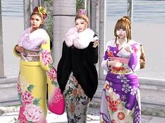 今年もありがとうございました (vparisv1225) Tags: secondlife firestorm secondlife:x=22 secondlife:region=sailinggrey secondlife:parcel=loungelagoon secondlife:z=22 secondlife:y=210 life girls beauty fashion japan digital shopping 3d women events avatar sl event virtual second reality kimono decor vr maitreya