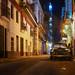 Calle por noche