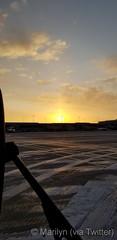 December 29, 2019 - A beautiful sunrise in Colorado Springs. (Marilyn)