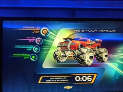 My vehicle, Test Track, Epcot, Walt Disney World, Lake Buena Vista, Florida, USA (gruntzooki) Tags: waltdisneyworld wdw disney florida fl lakebuenavista orlando testtrack epcot