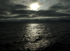 Denmark Strait (F VDS) Tags: arctic ocean greenland iceland sea waves north clouds sky moody sun