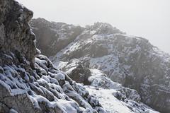 Italy / South Tyrol - Dürrenstein (Michael.Kemper) Tags: canon eos 6 d 6d mark ii ef 2470 24 70 f4 f 4 l is usm walk walking hike hiking wanderung wandern randonnée randonnee voyage travel travelling reise vacation urlaub italien italia italy south tyrol süd tirol südtirol trentinoalto adige trentino alto alps alpen alpi mountain mountains berg berge fall autumn herbst dolomiten dolomiti dolomites dürrenstein fresh snow schnee neuschnee naturpark fanessennesprags fanes sennes prags picco di vallandro fog nebel mist clouds wolken cloud