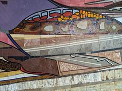 Mural 3, The Land, Epcot, Walt Disney World, Lake Buena Vista, Florida, USA (gruntzooki) Tags: waltdisneyworld wdw disney florida fl lakebuenavista orlando mural epcot theland
