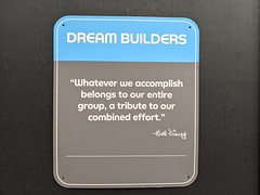 Walt Disney on collectivism, Epcot, Walt Disney World, Lake Buena Vista, Florida, USA (gruntzooki) Tags: waltdisneyworld wdw disney florida fl lakebuenavista orlando sign signs epcot