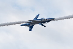 Opposite Continuous Roll (ARTS_fox1fire) Tags: aircraft airplane airshow t4 blueimpulse