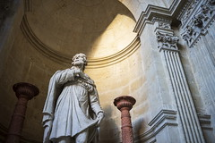 Auch (Laurent Pagès) Tags: leica leicam10d france summicron35asph occitanie gers gascogne gascony auch cathedral ca cathédrale catholique catholic sculpture statue saintroch