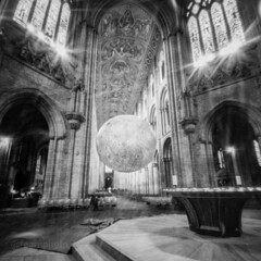 Museum of the Moon, Ely Cathedral (FearnPhoto) Tags: zeroimage zero2000 ilfordfp4 pinhole believeinfilm