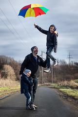 Hold me... ;-) (photonewbie69) Tags: eos m50 levitation 50mm photoshop layers family kids