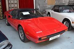 Ferrari 308 GTSi 1981 (Monde-Auto Passion Photos) Tags: voiture vehicule auto automobile cars ferrari 308 gtb coupé red rouge sportive rare rareté ancienne classique collection légende vente enchère osenat france fontainebleau