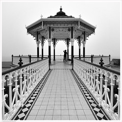 Dancing With Strangers / Brighton, West Sussex, UK (Andrew James Howe) Tags: mono blackandwhite brighton dancing strictlycomedancing