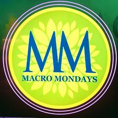 The Macro Mondays Logo (Chic Bee) Tags: brandandlogos macromondays redux2019 iphone7plus