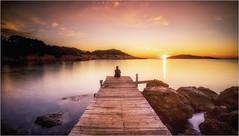 Mindfulness (carmenvillar100) Tags: mindfulness meditando amanecer sunrise meditation ibiza mediterraneansea costaeste eivissa paisaje baleares