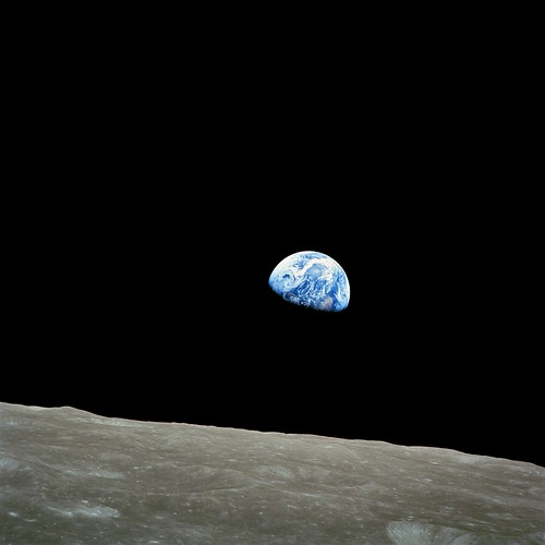 Earthrise by Apollo 8 by Wesley Fryer, on Flickr
