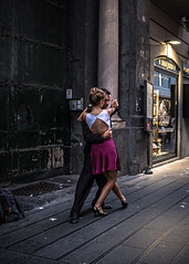 Dancers (cpphotofinish) Tags: streetphoto carst1 cpphotofinish italia italy roma rome lazio street night candid streetpeople nightphoto iloveitaly streetlife canonofficial canonnordic italialife fujifilm fujifilmstreet fujifilmnordic fujifilmitalia vespa