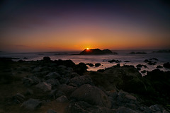 Bird Rock at Sunset (lfeng1014) Tags: birdrockatsunset birdrock sunset 17miledrive pebblebeach rocks beach monterey california usa canon5dmarkiii ef2470mmf28liiusm landscape longexposure 25seconds light travel lifeng