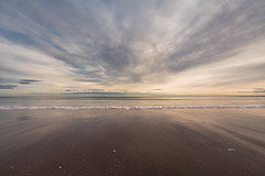 Tentsmuir beach East Coast_G5A4515 (ronniefleming@btinternet.com) Tags: eastcoast scottishlandscapes scottishcoastline ph31fy ronniefleming sunset goldenhour sand sea shells clouds