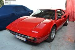 Ferrari 308 GTB (Monde-Auto Passion Photos) Tags: voiture vehicule auto automobile cars ferrari 308 gtb coupé red rouge sportive rare rareté ancienne classique collection légende osenat france fontainebleau