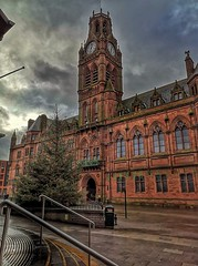 Barrow-in-Furness town hall at Christmas (POP'S PIC'S) Tags: architecture architecturephotography townhall christmas barrowinfurness cumbria