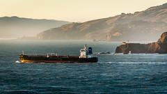 (seua_yai) Tags: america northamerica seuayai america2019 california pacificocean pacificcoast goldengate sanfrancisco2019 ship tanker