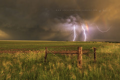 Superior Twins. (John Finney) Tags: nebraska unitedstates lightning storm stormchasing double kansas extremeweather weather