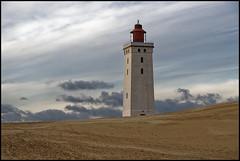 "Rubjerg Knude Fyr II   Rubjerg/Lønstrup, Denmark (Flemming J. Gade) Tags: lighthouse building sand dune sky clouds rubjergknude lønstrup abandoned northsea denmark ""sonyflickraward"