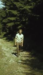Wanderung zum Jeschken 1012 m (Jested) (Seesturm) Tags: 1972 seesturm cz liberec reichenberg böhmen tschechien tschechoslowakei wandern jeschken jested fernsehturm hotel wald