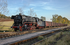 DR 44.1486 Marksuhl 13/10/2007 (stefano.trionfini) Tags: train treni bahn zug steam dampf dr br44 marksuhl werra thüringen germania deutschland