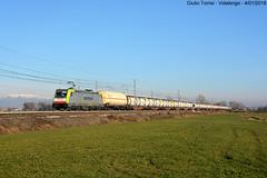 483 307, Vidalengo (GiulioTorrisi) Tags: e483 307 vidalengo captrain akiem traxx treno merci freight train bombardier