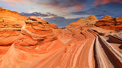 """The Wave"" Paria Canyon-Vermilion Cliffs Arizona (modsseny) Tags: arizona wave rock ormation blue sky"