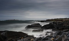 Typical Ireland (gary h kapps) Tags: irland irland2019 seascape seaside cloudy coastal water clouds cliffs rock ndfilter longexposure