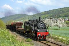 DB 75.1118 Gemünden am Main 24/04/2009 (stefano.trionfini) Tags: train treni bahn zug steam dampf db br75 bayern baviera germania