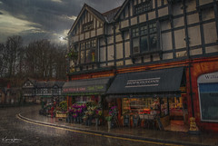 Open All Hours (Kev Walker ¦ Thank You 4 Comments n Faves) Tags: village outdoor house travel building sky rural beautiful home clouds scene town road scenery graphic cottage outdoors windows urban villagelandscape lymm cheshire rain picturesque hdr shops street