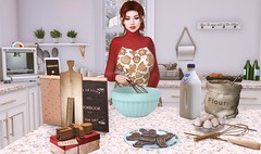 Cooking With Martha (EnviouSLAY) Tags: applefall dustbunny halfdeer kraftwork vanillabae hive kitchenscene kitchen scene secondlifefashion secondlifephotography ginger truth turtleneck red sweater tetra apron foxcity pose props gacha decor rare wednesday tylie colivatibeauty lipstick pinkfuel eyeshadow gloss genus classic theshops legacy bento plants oven baking cookies cooking theepiphany newreleases new releases the epiphany c88 monthlyevent monthlyfashion monthlyfair gachaevent gachafair gachafashion gachadecor monthly event fair fashion pale female male gay lgbt blogger secondlife second life photography