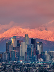 Winter in Los Angeles (Eric Zumstein) Tags: losangeles kennethhahnpark california unitedstatesofamerica dtla city